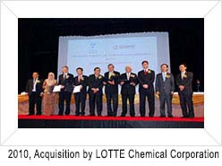 Acquisition by Lotte Chemical Corp