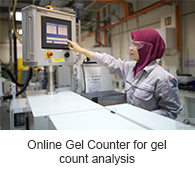 Online Gel Counter for gel count analysis