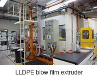 LLDPE blow film extruder