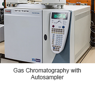 Gas Chromatography with Autosampler